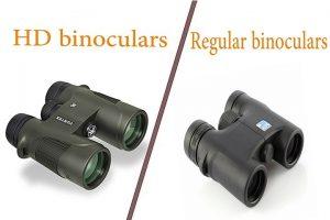 hd binoculars vs regular binoculars