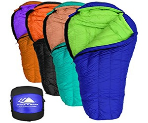 Hyke & Byke Eolus 15 & 0 ° F Backpacking quilt Ultra-Light Mummy Bags