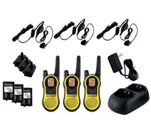 Motorola Mh230tpr 2 Way Rechargeable Radio GMRS / FRS