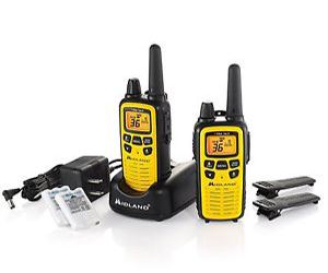 Midland LXT630VP3 GMRS With 36-Channel And 30-Miles Range NOAA Weather Alert
