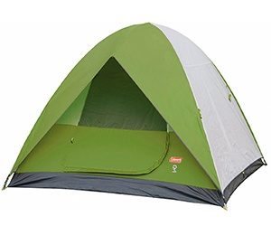 Coleman Sundome Tent For 2 Person under 200